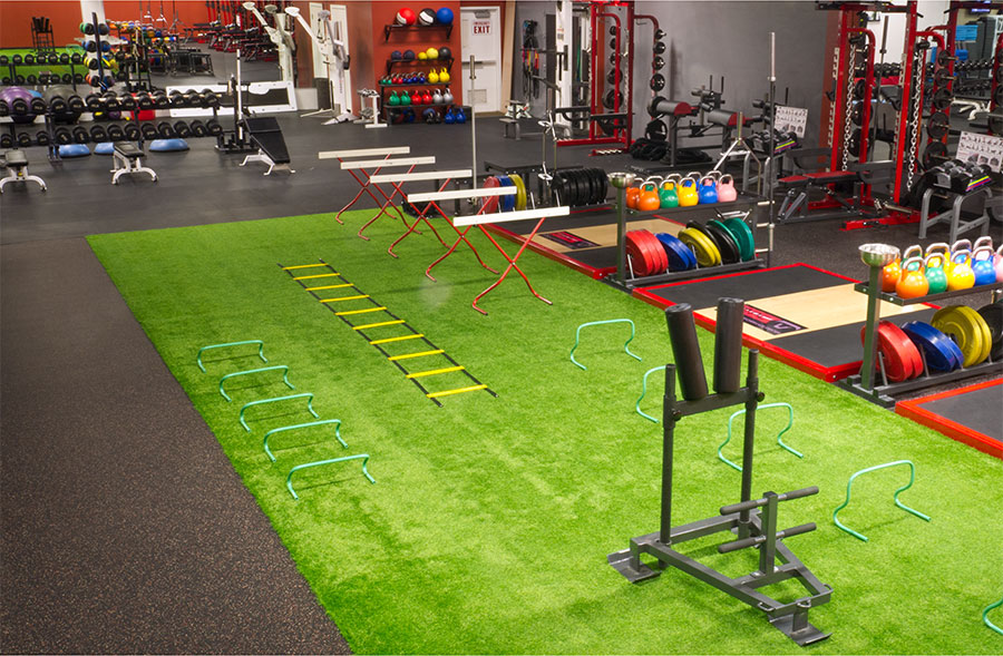 Matador Performance Center room with equipment.